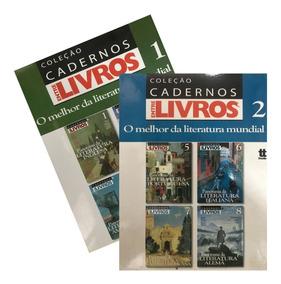 Kit Cadernos O Melhor Da Literatura Mundial + Brinde