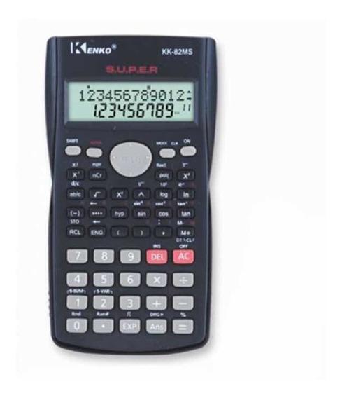 Calculadora Científica Colegio Con Tapa Envio Gratis