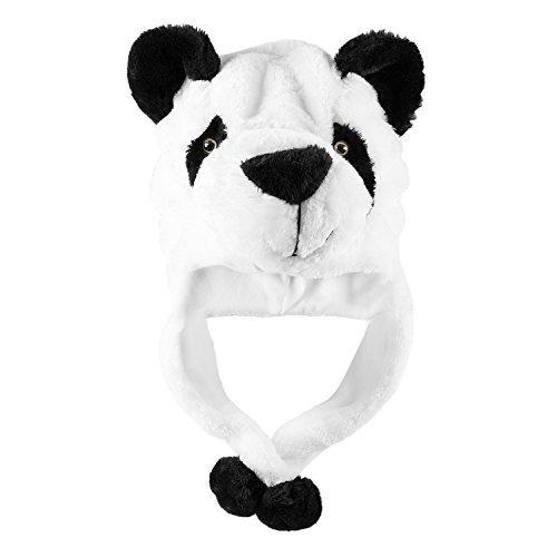 Panda Bear Plush Animal Invierno Ski Hat Beani