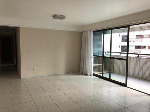 Apartamento Em Tamarineira, Recife/pe De 122m² 4 Quartos À Venda Por R$ 700.000,00 - Ap329640