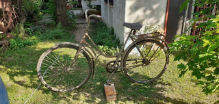 Antigua Bicicleta Monark Rod. 28 A Restaurar Canjeo