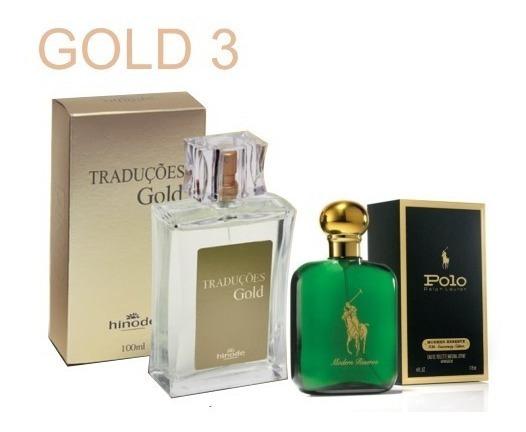 Perfume Traduções Gold - Polo Rauph Lauren. 100ml