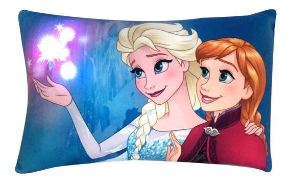 Piñata Almohadon Con Luces Led Frozen