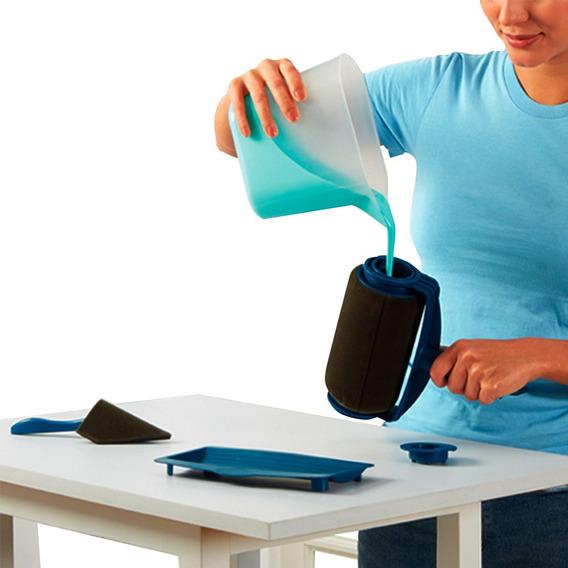 Rodillo Para Pintar Rellenable Kit Completo Envio Gratis