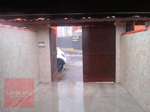 Casa Com 1 Dormitório Para Alugar Por R$ 600,00/mês - Jardim Corumbá - Itanhaém/sp - Ca1856