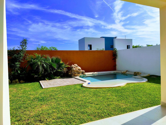 Hermosa Casa Nueva Con Alberca Y Jardin Y Terraza Zona Nort