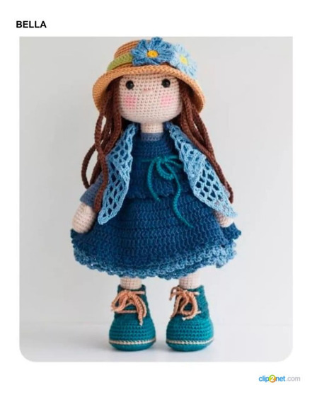 5 Patrones Muñecas Amigurumis Crochet +2 Regalo