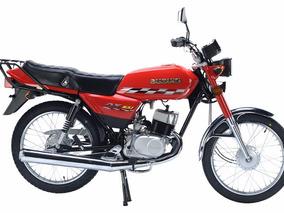 Motocicleta Suzuki Ax100 Trabajo 2017