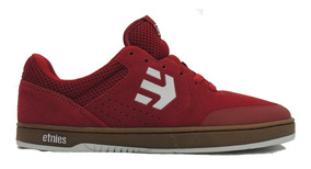 Zapatos Etnies Marana Red White Gum