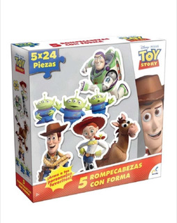 Rompecabezas Con Forma Toy Story