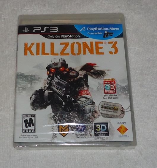 Killzone 3 Ps3 Lacrado Português ** Frete Grátis Leia