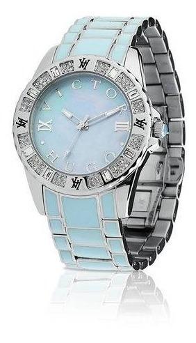 Relógio Feminino Victor Hugo 10073lsbl/38m