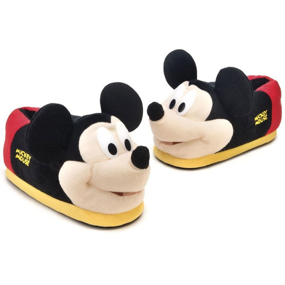 Pantufa 3d Mickey Mouse - Ricsen