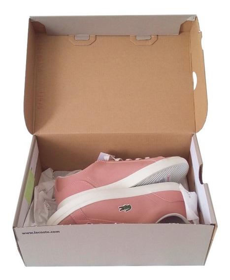 Tenis Zapato Lacoste Lerond 318 Niña Mujer Nuevo Original