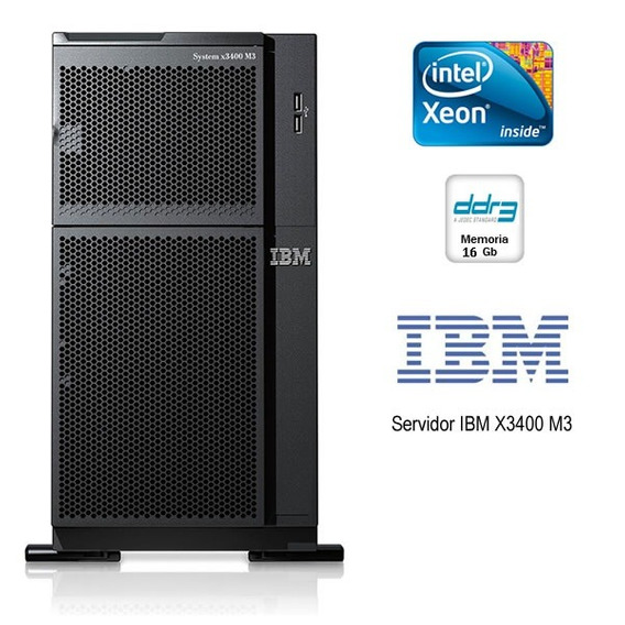 Ibm System X3400 M3 2 Six Core E5645 2.4ghz 16gb 4 Hds 146gb