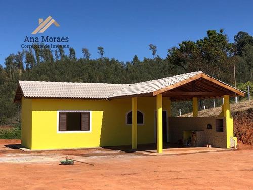 Chácara Para Venda Em Pedra Bela, Zona Rural, 1 Dormitório, 1 Suíte, 2 Banheiros, 2 Vagas - 141_1-1746277