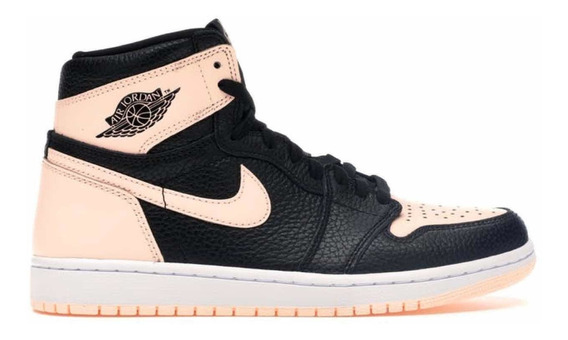 Sneakers Originales Jordan 1 Retro High Black Crimson Tint