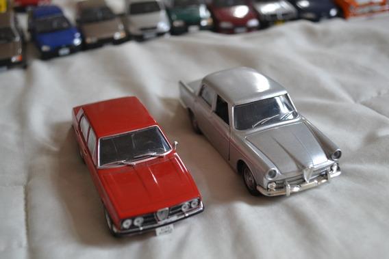 Conjunto Com 2 Miniaturas Alfa Romeo - Escala 1/43