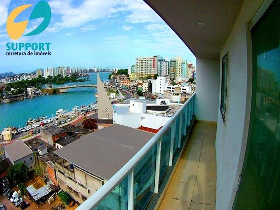 Apartamento À Venda De 2 Quartos No Centro De Guarapari - Support Imóveis - Ap00046 - 34723404