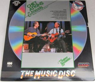Chet Atkins - Chet Atkins & Friends Importado Usa Laserdisc