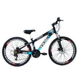 Bicicleta Vikingx Aro 26 Freio À Disco 21 Velocidades