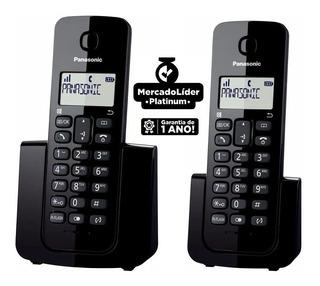 Telefone Sem Fio Panasonic Kx-tgb112lbb Com Id + Ramal