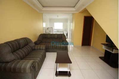Sobrado Com 2 Dormitórios À Venda, 71 M² Por R$ 190.800 - Cidade Industrial - Curitiba/pr - So0360
