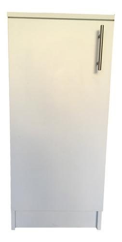 Mueble Multiusos Para Cocina Estilo Minimalista 40 Cm Ancho