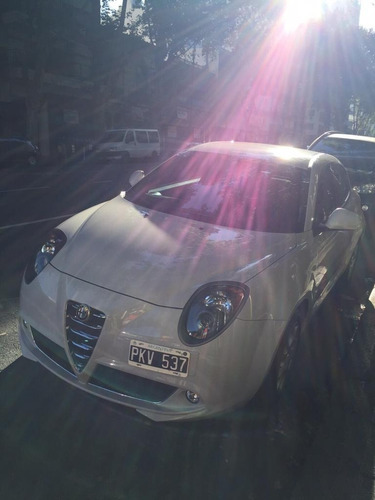 Alfa Romeo Mito Junior 1.4 Año 2015 48.000 Km Blanco Perlado