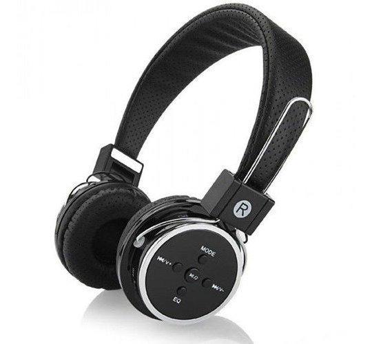 Fone Ouvido Estéreo Celular Bluetooth Mp3 Radio Fm