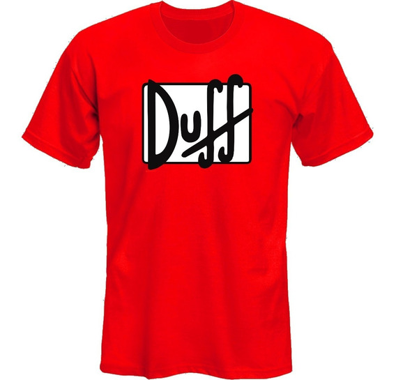 Remeras The Simpsons Duff Duffman Adult *mr Korneforos*