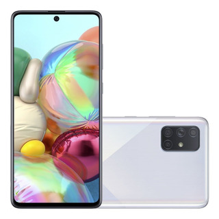 Smartphone Samsung Galaxy A71 128gb Tela Infin 6.7 Dual Chip