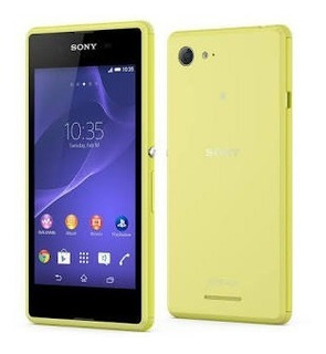 Sony Xperia E3 Color Verde Limon