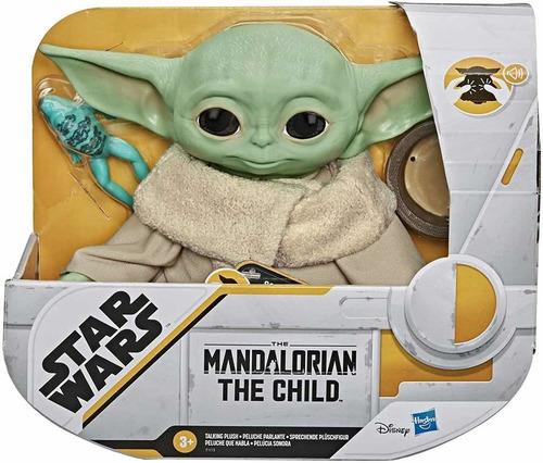 Baby Yoda Hasbro, The Child Peluche Q Habla, Dculto