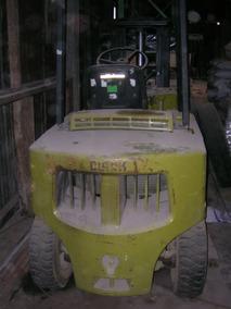 Autoelevador Clark Año 86 Containero Nafta Forklift