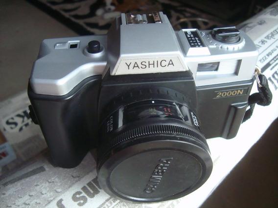 Máquina Fotografica Yashica 200n Analógica ( Erança Da Avó )