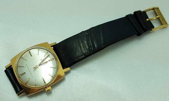 Relógio Unissex Movado Kingmatic Swiss Made Folheado A Ouro