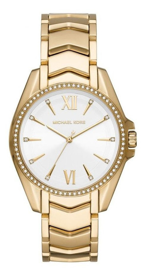 Relógio Michael Kors Feminino Dourado Mk66931dn