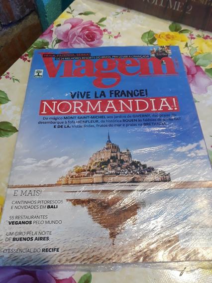 Revista Viagem E Turismo Normandia França Lacrada Ago 2018