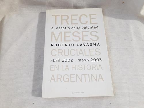 Imagen 1 de 5 de Desafio De La Voluntad Abril 2002 Mayo 2003 Lavagna Roberto