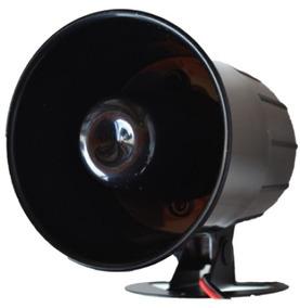Corneta Alta Potência Sirene Magnética 120 Db Securi Service