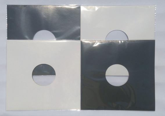 20 Capas Brancas Disco Vinil Lp Dj12.+ Plásticos Grátis