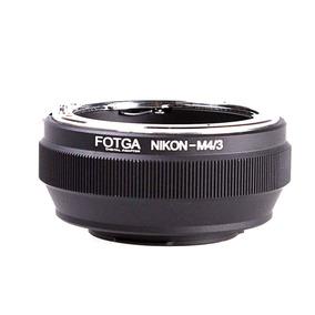 Adaptador Lente Nikon P/ M4/3 Panasonic Gh4 Gh5 Blackmagic