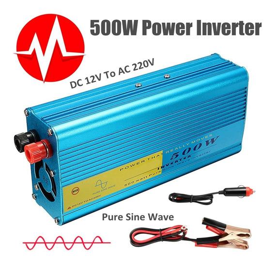 1000w Pico Solar Energía Inversor 12v Corriente Continua A 2