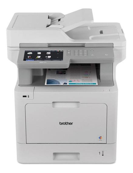 Impressora a cor multifuncional Brother Business MFC-L9570CDW 120V branca