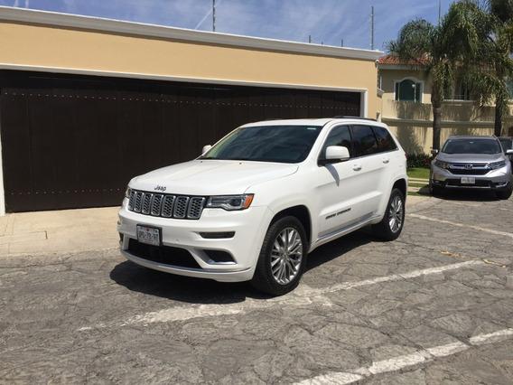 Jeep Grand Cherokee 2018 Summit ¡¡nuevaa!! 4mil Km