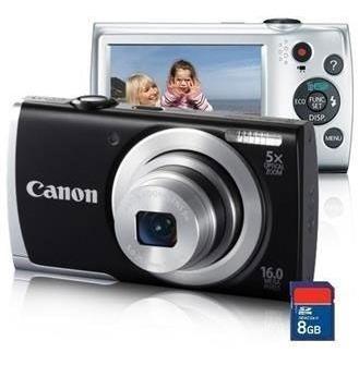 Canon Powershot A2500 Câmera Digital De 16mp Com Zoom Ótico