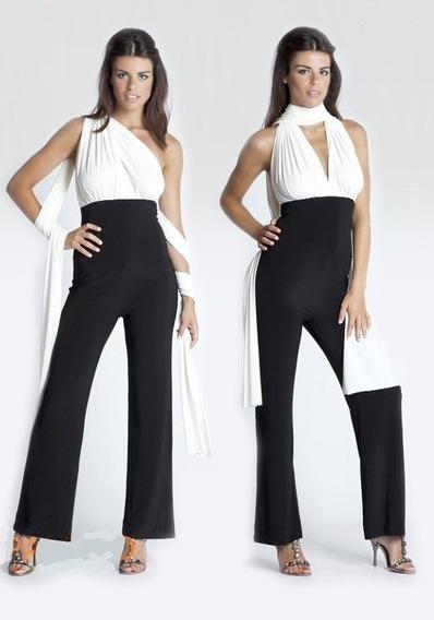 Enterito Vanesa Multiforma 10 En 1 , Jeans, Pantalones Md