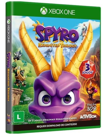 3 Jogos - Spyro Reignited Trilogy - Midia Fisica Xbox One