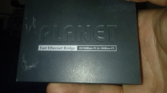 Onversor De Mídia Ft-802 V4 10/100m Multímodo 2km - Planet